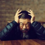 Ai Weiwei in his studio by Jamie Hawkesworth