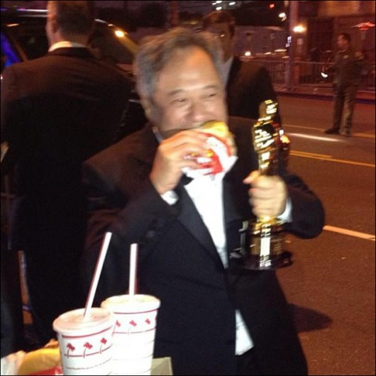 Ang Lee In N Out burger
