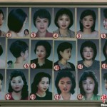 Approved hairstyles for North Korean women