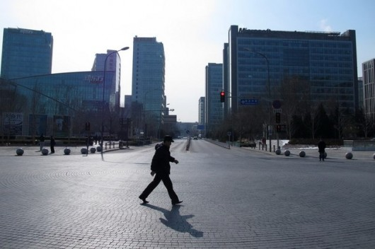 Beijing cleared out for Spring Festival