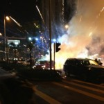 Fireworks Blow Up Mazda During Chinese New Year Celebrations