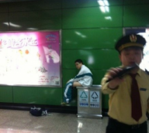 Teenager Poops In Guangzhou Subway Trash Receptacle [UPDATE]