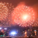 Fireworks Over Hong Kong's Victoria Harbor Proves Spectacular Once Again