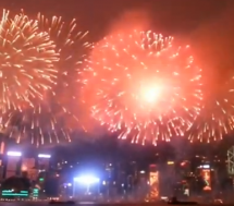 Fireworks Over Hong Kong&#8217;s Victoria Harbor Proves Spectacular Once Again