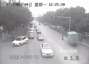 Jaywalker causes truck accident featured image
