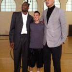 Jeremy Lin Poses With Dikembe Mutombo And Yao Ming, Looks Tiny