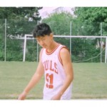 Here's A Picture Of A Young Kim Jong-Un Wearing A Dennis Rodman Bulls Jersey