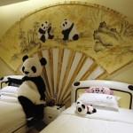 Pervy Panda Promotes New Panda-Themed Hotel Near Chengdu
