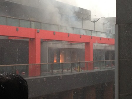 Sanlitun Village fire