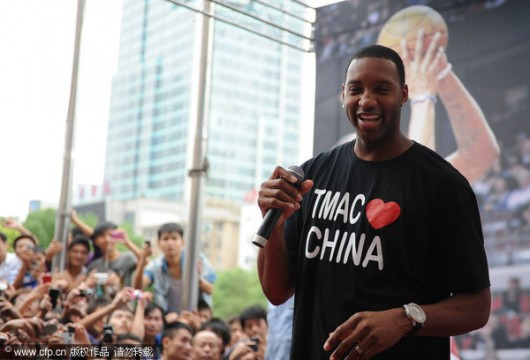 Tracy McGrady China