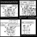 Laowai Comics: Hello! Hello! Hello?