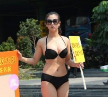 Bikini Babes On Hong Kong-Shenzhen Border Want You To Know Breast Milk Is Better Than Powder