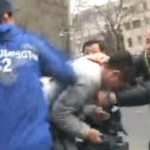 Attack on journalists outside Liu Xia's home