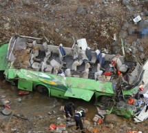 Passenger Bus Drives Into Ravine In Yunnan, Killing 13