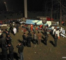 Bus Drives Off Bridge On The Yangtze River, Killing At Least 14