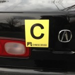 Are You A Chinese Driver? Please Brand Yourself With This Bumper Sticker