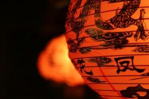 Chinese lantern by Rassvetnaya