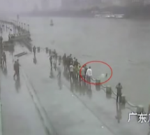 Police Officer In Guangzhou Drowns While Saving Tourist, Who Blames Himself For The Officer&#8217;s Death