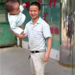 Dad swings baby Shaolin Temple 2