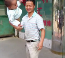 Dad Swings And Twirls Toddler Like A Baton To &#8220;Train&#8221; Him For Shaolin Temple