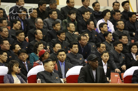 Dennis Rodman and Kim Jong-un 1