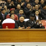 Here They Are: Dennis Rodman And Kim Jong-Un