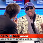 "Rodman Calls Kim Jong-Un ""An Awesome Kid,"" Has First Post-North Korea Interview With George Stephanopoulos"