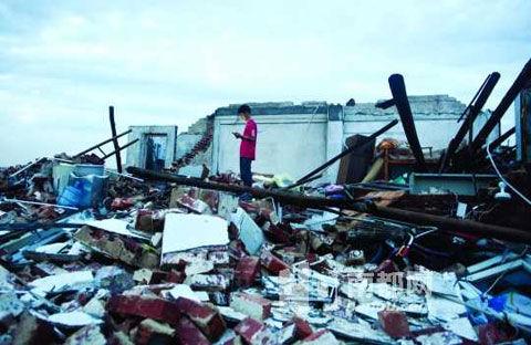 Dongguan hail damage 4
