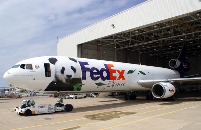 Panda plane FedEx
