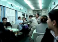 Adventures In Chinese Trains: Wife Physically Nags Drunk Husband