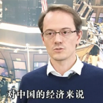 Foreign correspondent speaking Chinese