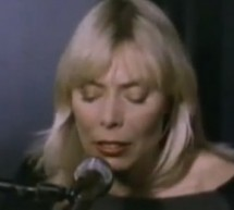 Saturday Night Musical Outro: Joni Mitchell – Chinese Cafe