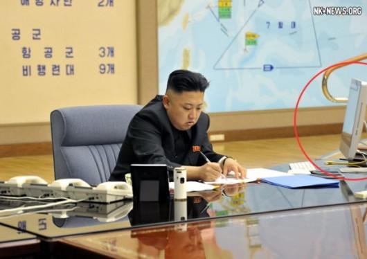 Kim Jong-un uses a Mac
