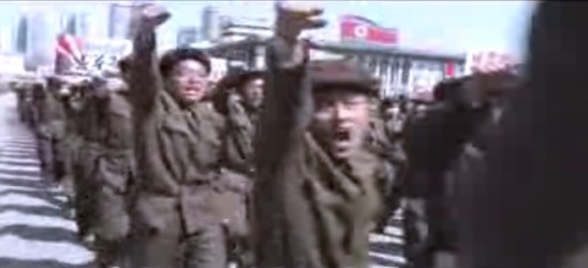 Mass rally at Kim Il-sung Square in Pyongyang 3