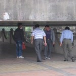 Doh! Pedestrians Continue To Bump Heads On A Flyover Built Way Too Low