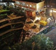 When Sinkholes Happen: Surveillance Footage Captures The Ground Opening And Swallowing A Passerby In Shenzhen