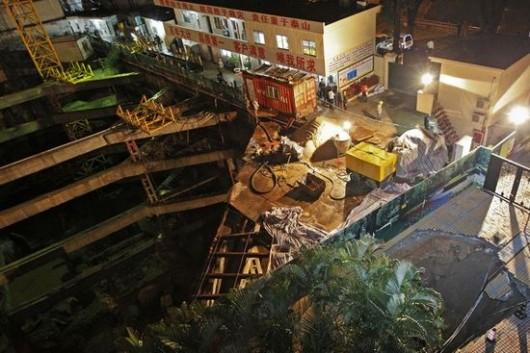 Sinkhole Shenzhen 2