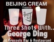 Beijing Cream Presents: Three Shots With&#8230; George Ding