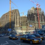 The Race Is On: Construction Of Zaha Hadid's Wangjing SOHO vs. Its Chongqing Counterfeit