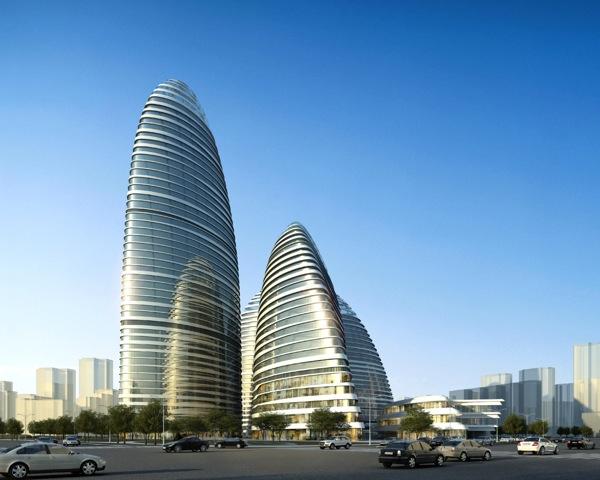 Wangjing SOHO rendering