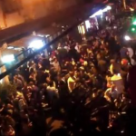 Water thrown on Shanghai partiers