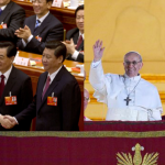 Xi Jinping and Pope Francis