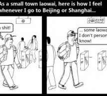 Laowai Comics: A Foreigner We Don't Know