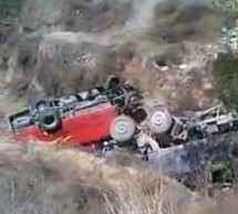 9 Dead, 29 Injured After Bus And Truck Collide, Plunge Off Bridge In Shanxi