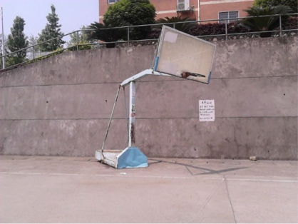Basketball hoop kills dunking freshman base other hoops 2