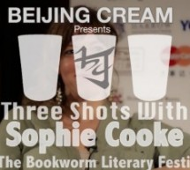 Three Shots With Sophie Cooke, Scottish Novelist