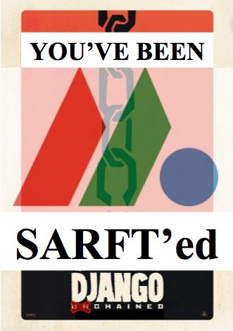 Django Unchanged gets SARFTed