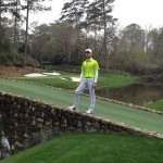 Guan Tianlang at the Masters