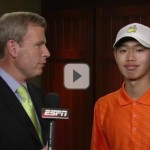 Guan Tianlang makes cut