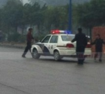 Knife-Wielding Man In Guangzhou Gunned Down By Police